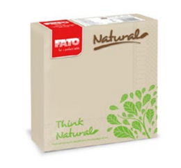 Eco Natural Servietten 33x33