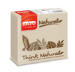 Eco Natural Servietten 25x25