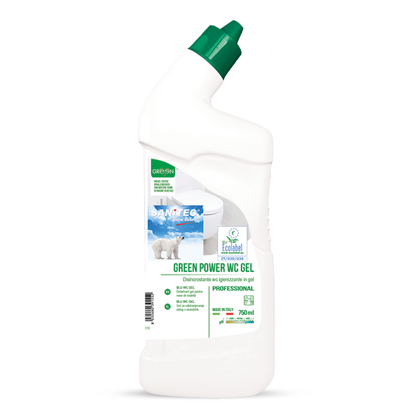 GREEN POWER WC GEL 750ml