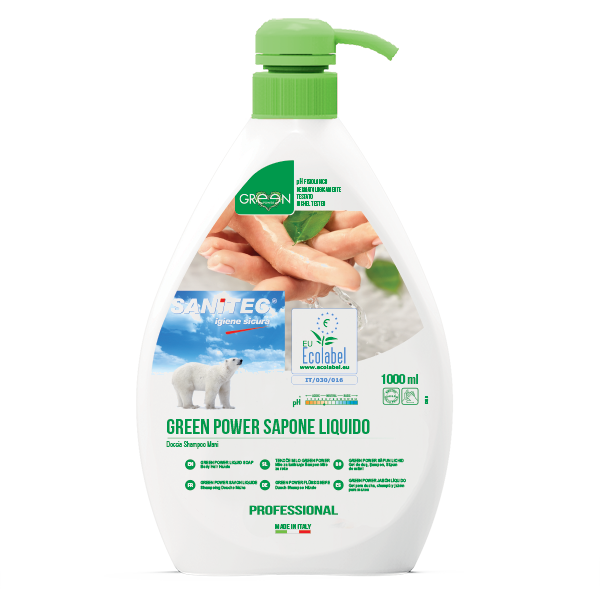 GREEN POWER Sapone Liquido 1000ml
